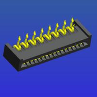 1.25mm間距A型彎針雙面接FPC