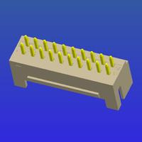 PH2.0mm間距雙排加厚帶扣T2直針
