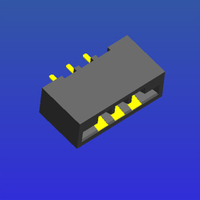 2.54mm間距柔性線路連接器